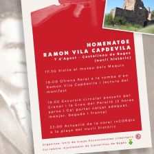 Homenatge Ramon Vila Capdevila