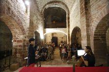 A l'interior de l'església de Sant Andreu